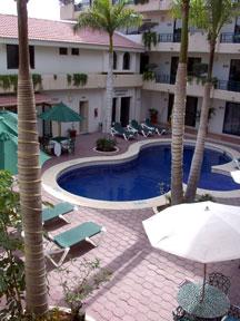 Hotel Santa Fe courtyard